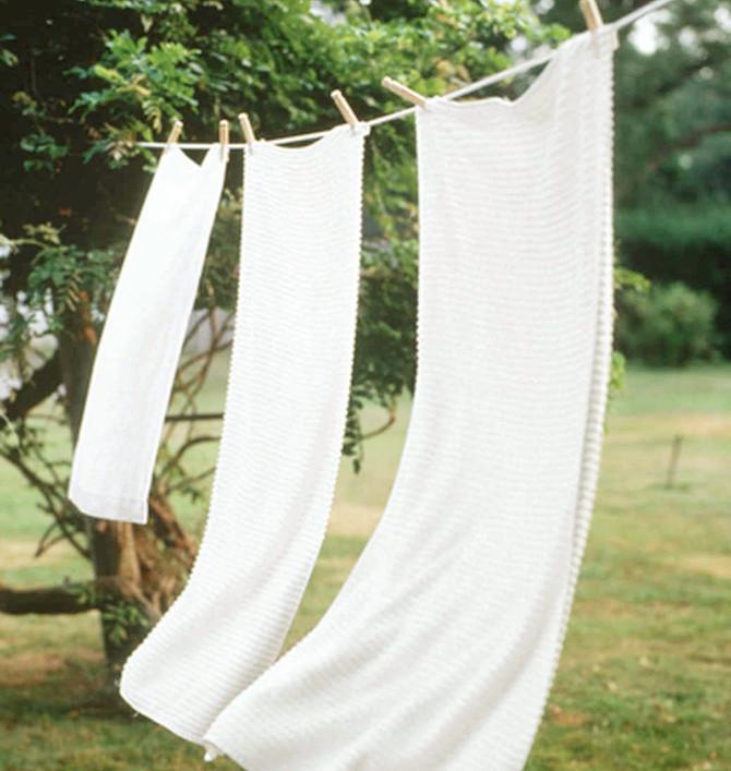 8 redenen waarom je was ophangen goed voor je is!