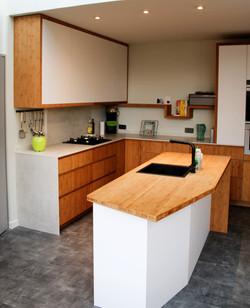 Strakke keuken met een hart