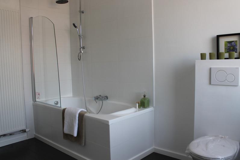 Een bad/douche combinatie, omdat niet iedere dag dezelfde is.