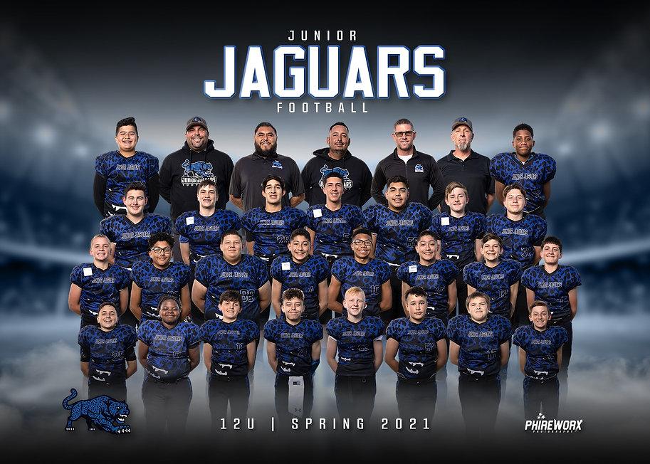 Jr Jags Football 12U Team Spring 2021.JP