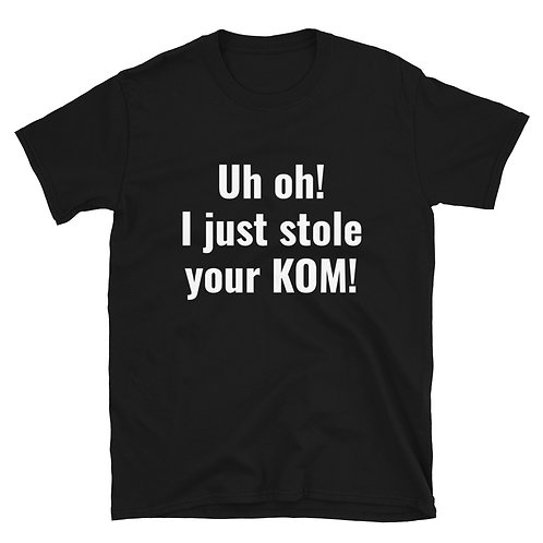 Stole your KOM!