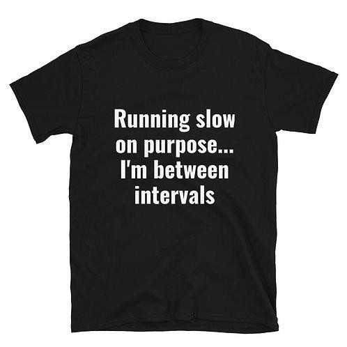 Run Slow, Between Intervals