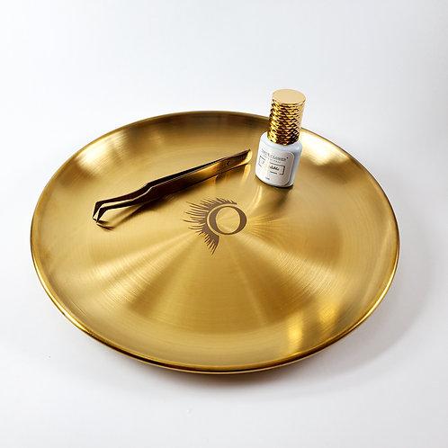 Metal Tweezer Rest Plate