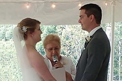 Tent wedding The Bluffs at Coffee Mill -