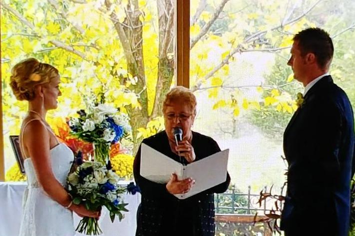 Scandia garden wedding