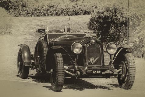 1930 Alfa Romeo (Sepia)