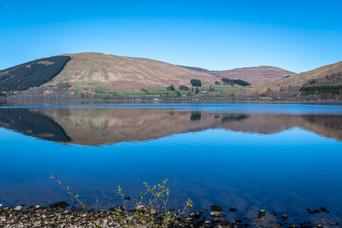 'Reflections' on Loch Earn, Scotland