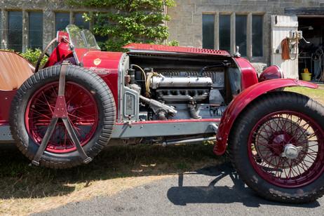 1930 Alfa Romeo Engine
