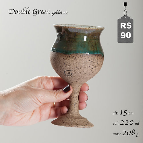 Double Green Goblet 02
