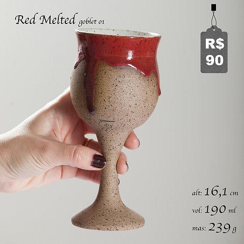 Red Melted Goblet 01
