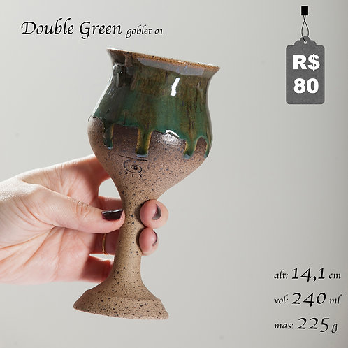 Double Green Goblet 01