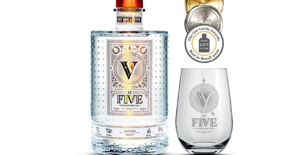 AT FIVE GIN + copo de vidro exclusivo