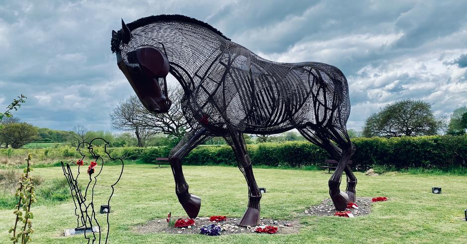 War Horse - a powerful tribute to Featherstone's first world war fallen