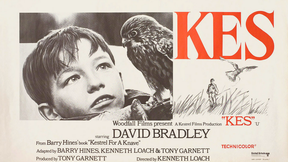 Kes – an iconic piece of Yorkshire cinema now ranked 7th in the BFI Top 10 British Films list
