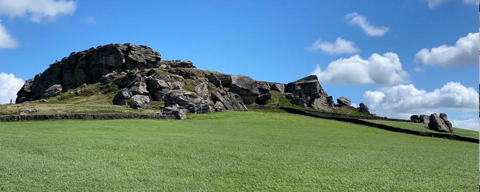 Almscliffe Crag – literally a magical place whether you believe in fairies or not!