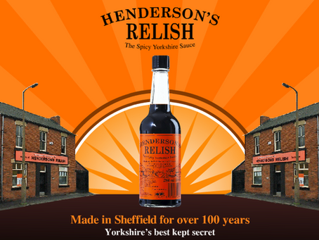 "Henderson's Relish – ""Like Worcester Sauce but a million times better"""
