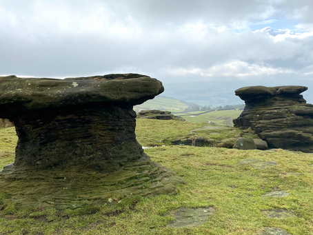 Ilkley to The Doubler Stones loop walk