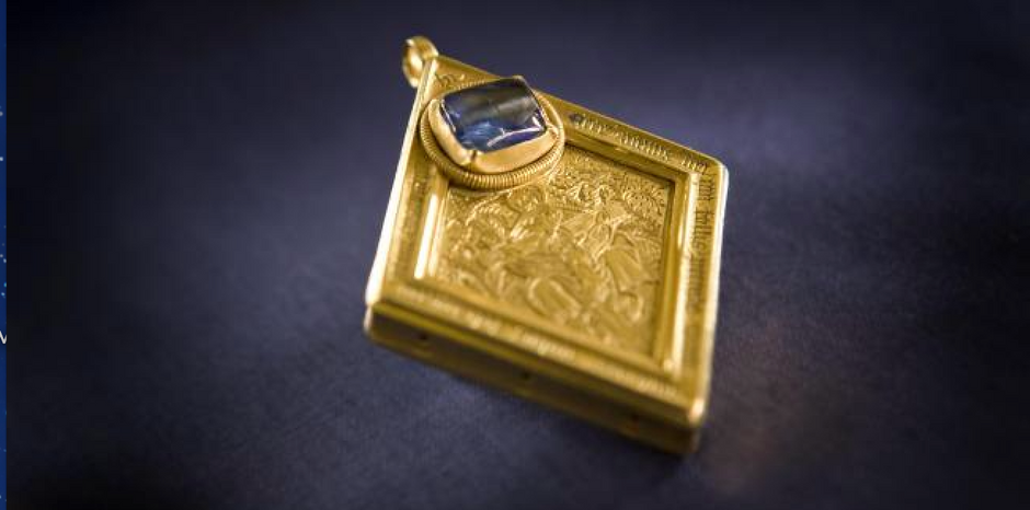 A Detectorist's dream - the story behind the Middleham Jewel
