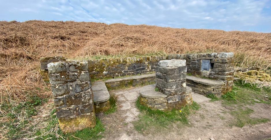 The Poetry Seat on Ilkley Moor
