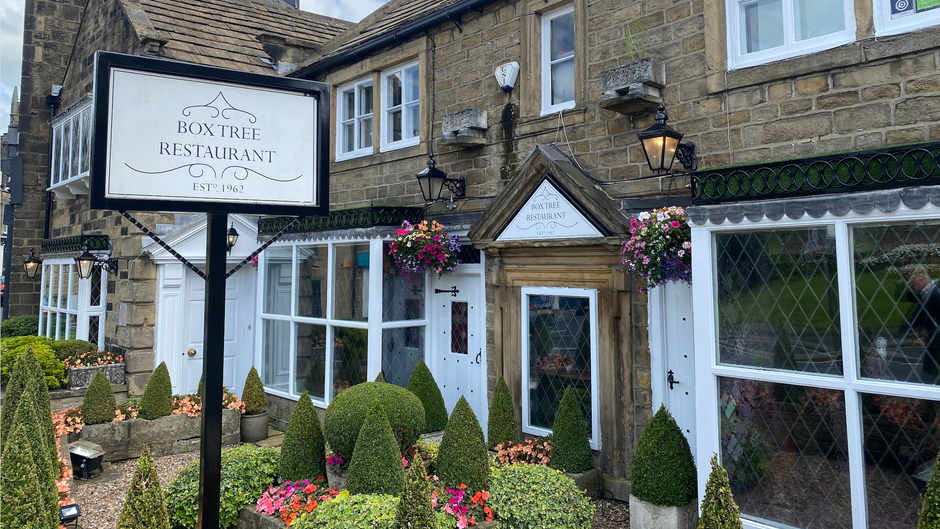 Sunday Lunch at The Box Tree in Ilkley