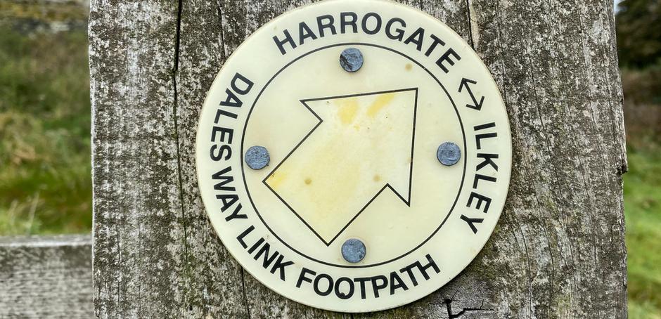 Dalesway Link – Harrogate to Ilkley walk