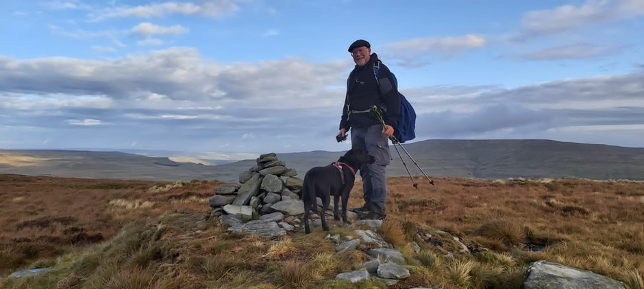 Firth Fell and Birk Fell – a walk with big views from Kettlewell