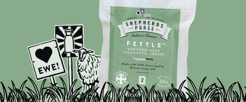 Shepherds Purse relaunch their Yorkshire Fettle to help support the UK's Sheep milk industry