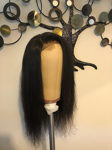Unstyled Straight Wig