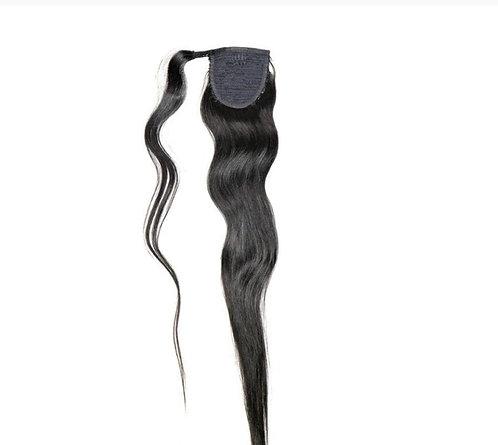 Velcro Ponytail (Natural Black)