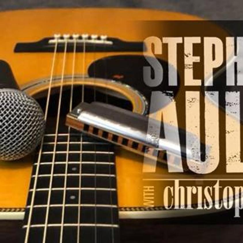 Steve Ault w/ Christopher Lee