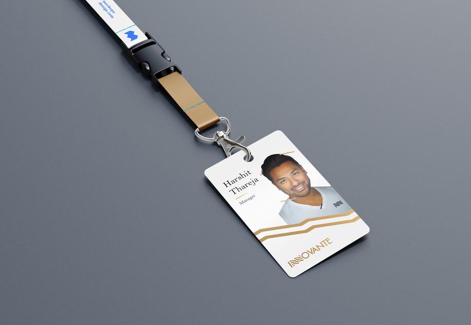 Innovante ID card_Design Process