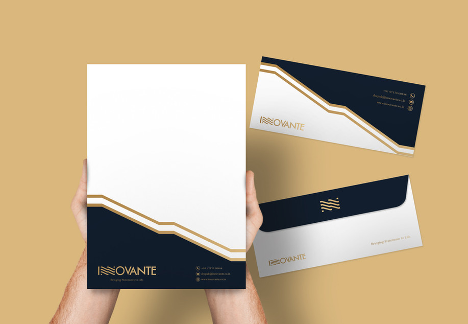 Innovante Envelope_Design Process