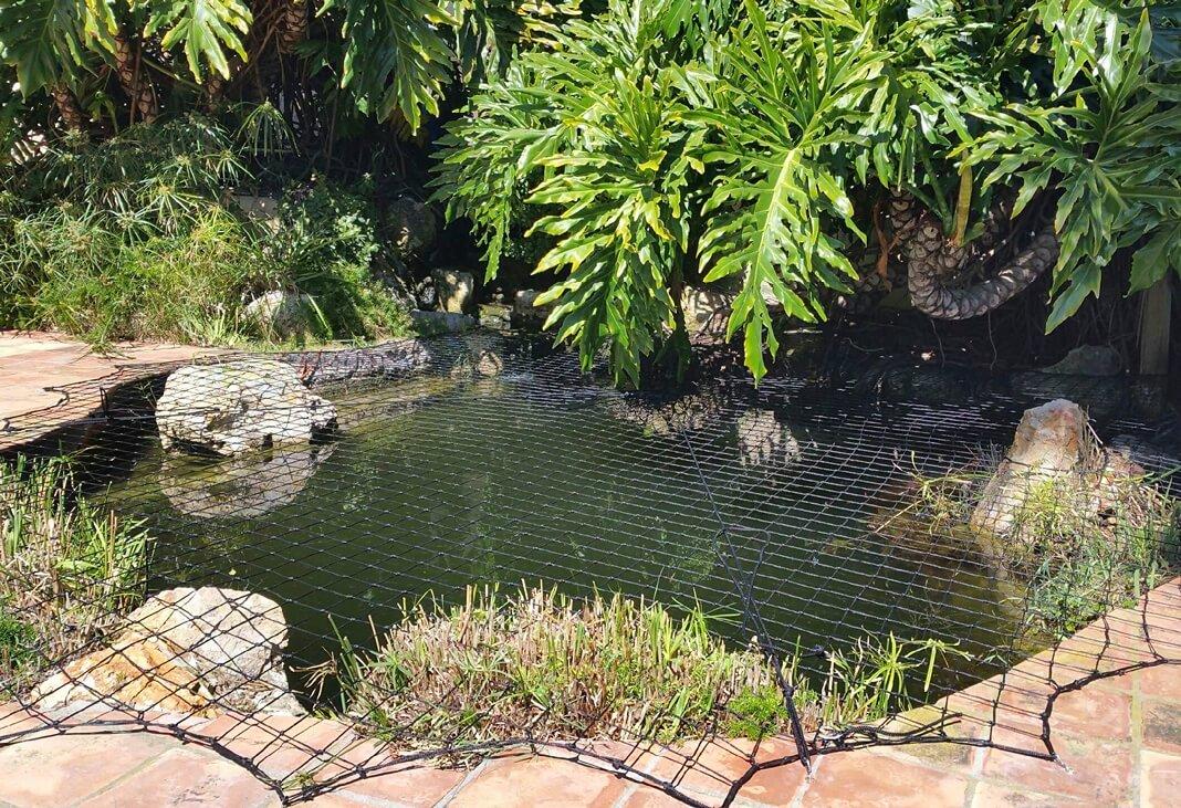 Child Proof Pond Net