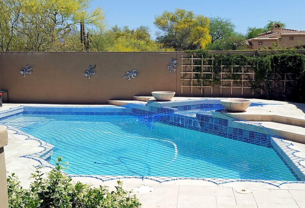 Pool Elevation Wall Net