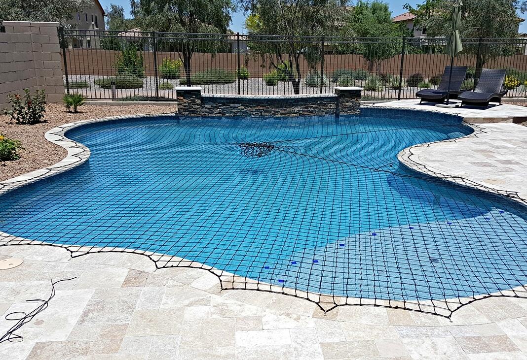 Freeform Pool Safety Net