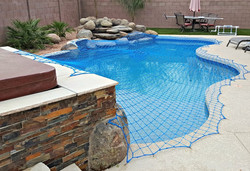 Pool Rock Wall Net