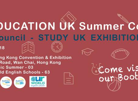 British Council - Study UK Exhibition 2018
