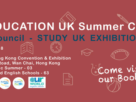 British Council - Study UK Exhibition 2018