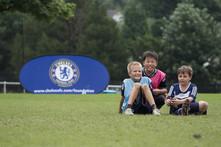 Soccer kids Chelsea FC sign