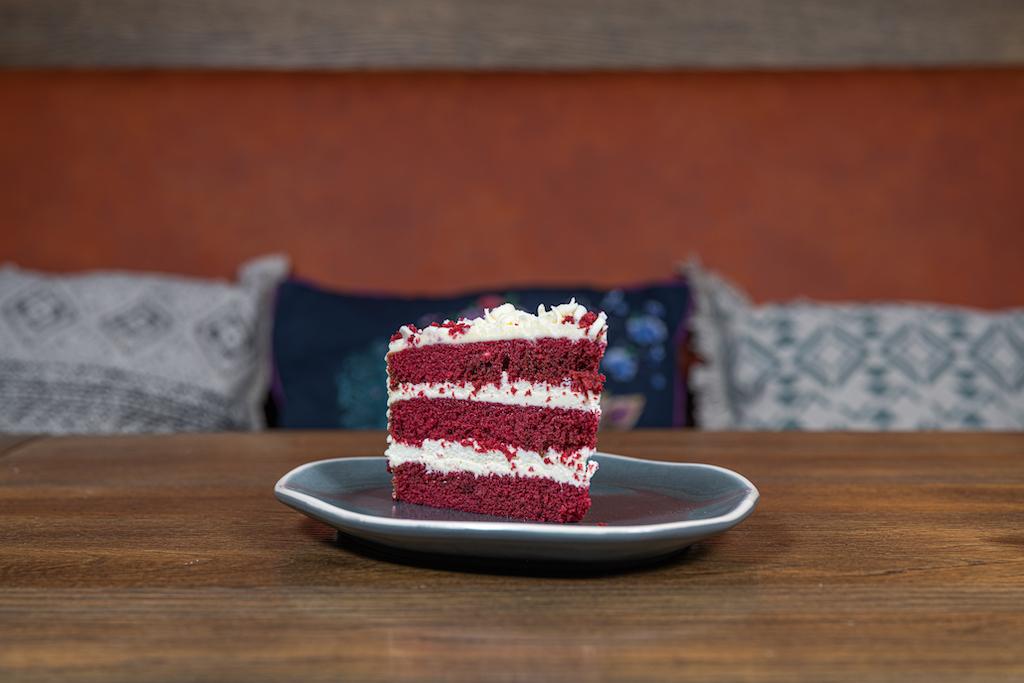 Huisgemaakte Red Velvet Cake