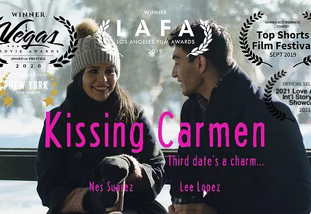 KISSING CARMEN named Official Selection at 2021 Love Actually Int'l Storyteller Showcase