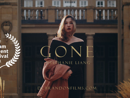 """Fashion Film """"Gone"""" a Nominee at Rotterdam Independent Film Festival"""