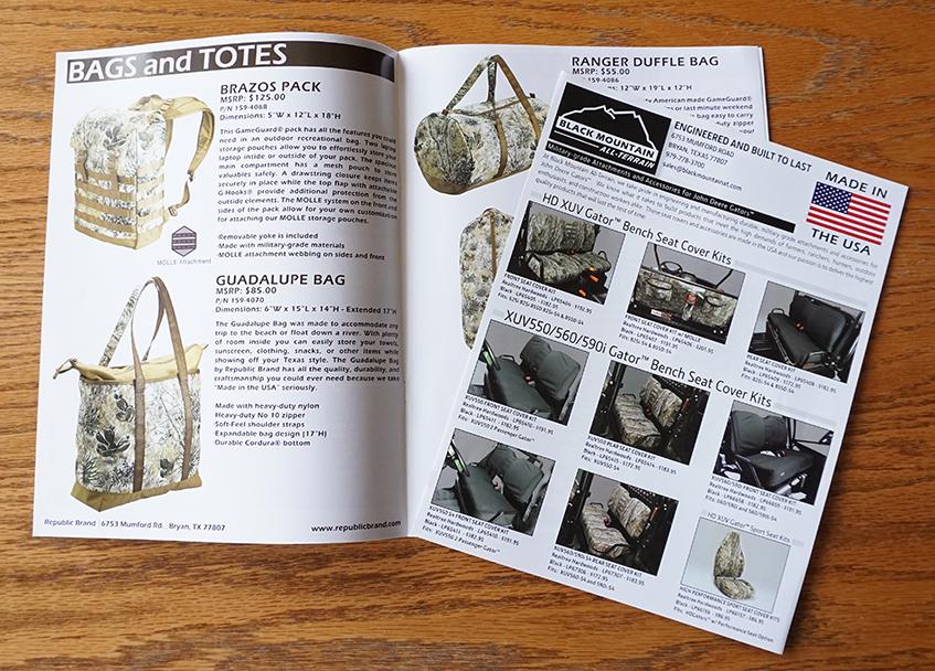Catalog & Flyer