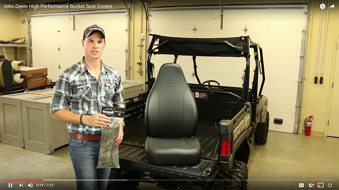 YouTube Video - Seat Cover Install