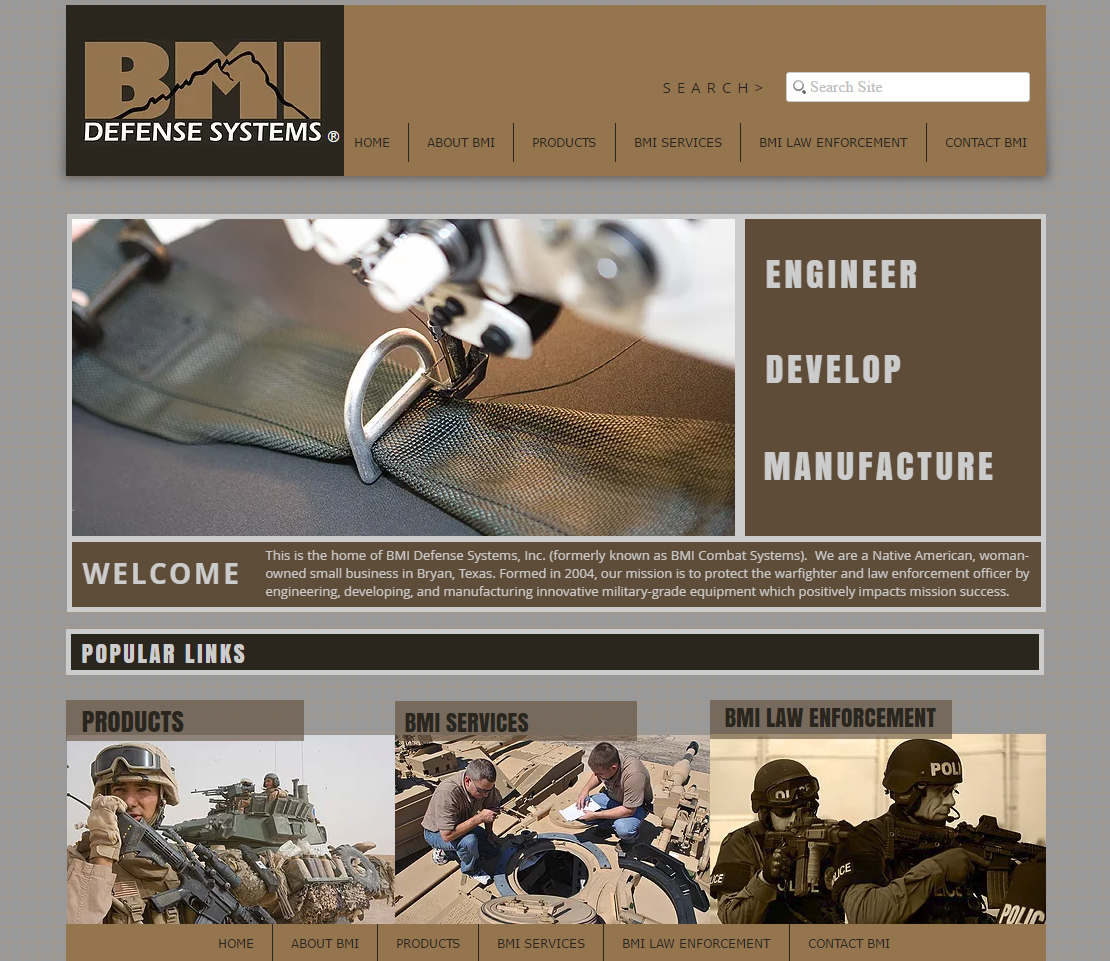 BMI Defense Website