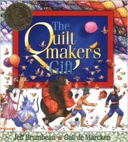 The Quiltmaker's Gift Cover Art
