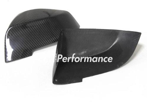 14 BMW F10/F01 F02 Add on Carbon Mirror // double side carbon fiber