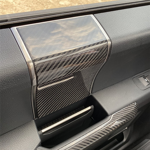 Interior Door Handle Panel Trim Cover Decorate For Ford F150 2015+