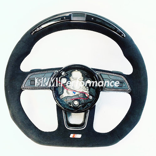AUDI Carbon Fiber Steering Wheel For A3/S3/RS3/A4/S4/RS4/A5/S5/RS5/A6/S6/RS6/TT