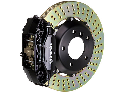 Brembo GT 320x28 2-Piece 4 Piston Black Drilled Front Big Brake Kit